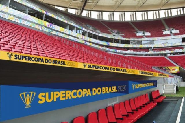 Supercopa: 2º lote de ingressos para Flamengo x Athletico sai às 15h