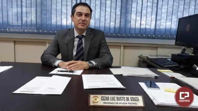 Novo chefe da Delegacia de Polícia Federal em Maringá toma posse nesta segunda-feira, 29