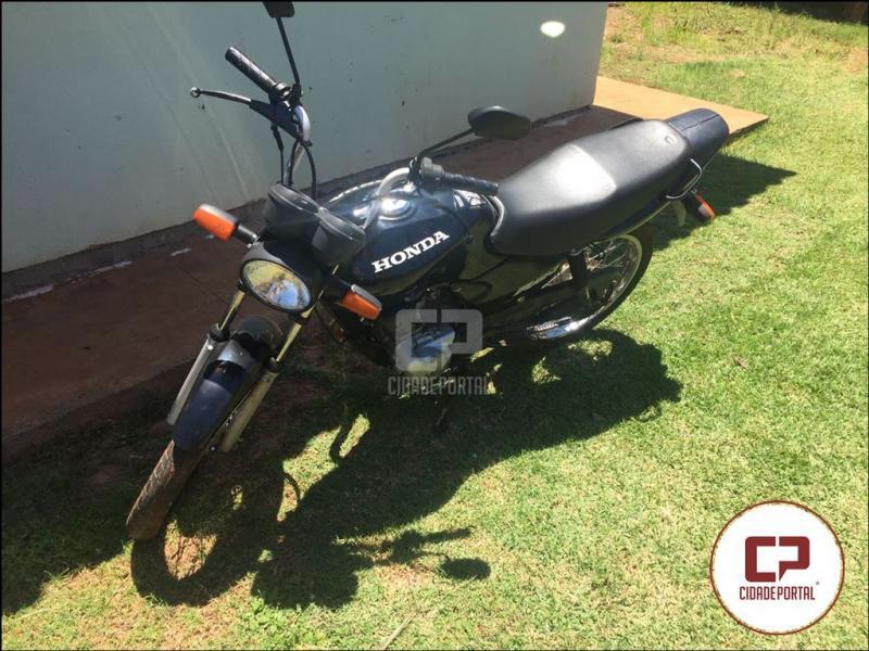 Polícia Militar de Moreira Sales apreende menor com motocicleta furtada