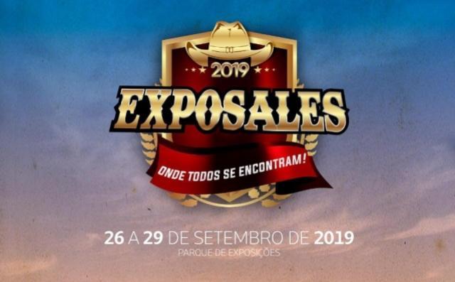 Definida a programação da Expo-Sales 2019 - a festa mais top da região