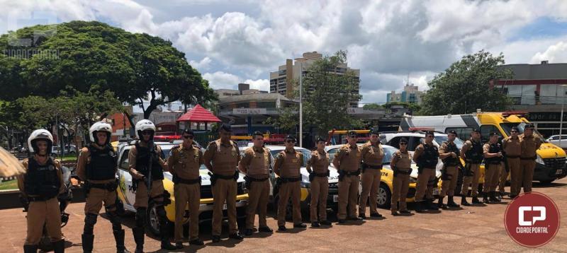 Operação de Natal foi lançada nesta sexta-feria, 30 pela Polícia Militar de Umuarama