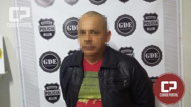 Procurado por estelionato em São Paulo e no Paraná foi preso pela Polícia Civil em Umuarama