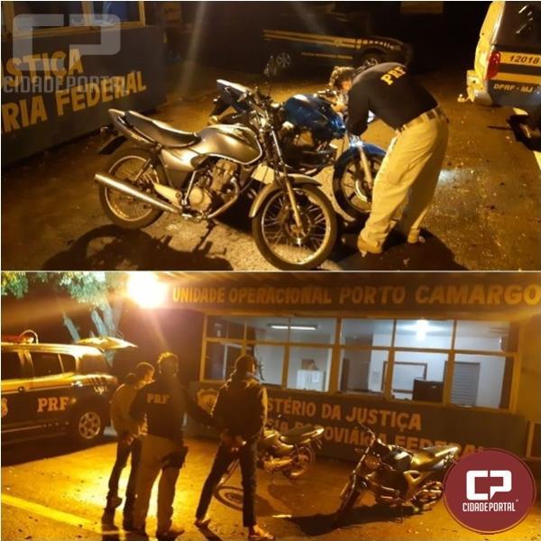 PRF prende dupla que transitava pela rodovia em Icaraíma com duas motocicletas furtadas