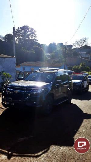 MP, Polícia Civil e Militar deflagram a maior operação de combate ao crime organizado Ubiratã