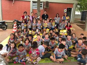 Visitas no Detran marcaram a Semana Nacional do Trânsito em Ubiratã