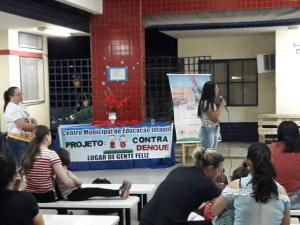 CMEI e o Programa A União Faz a Vida desenvolveu projeto Eu Contra a Dengue em Ubiratã