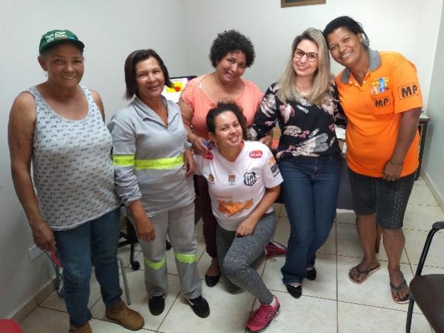 Margaridas participam de treinamento com psicóloga em Ubiratã