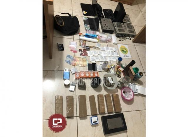 Policiais Militares estouram ponto de venda de drogas em Ubiratã