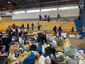 Comunidade ubiratanense se une para ajudar famílias que sofreram perdas com a tempestade