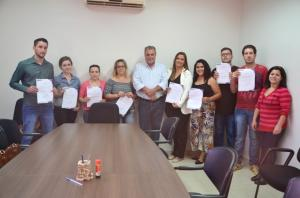 Aprovados no concurso de 2018 tomaram posse em Ubiratã
