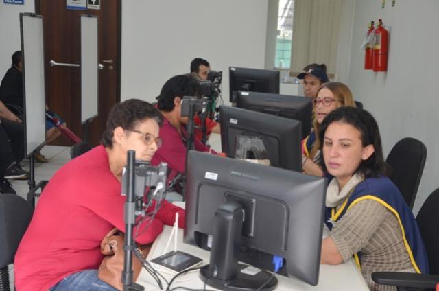 Cadastramento biométrico continua acontecendo no Fórum Eleitoral de Ubiratã e Juranda