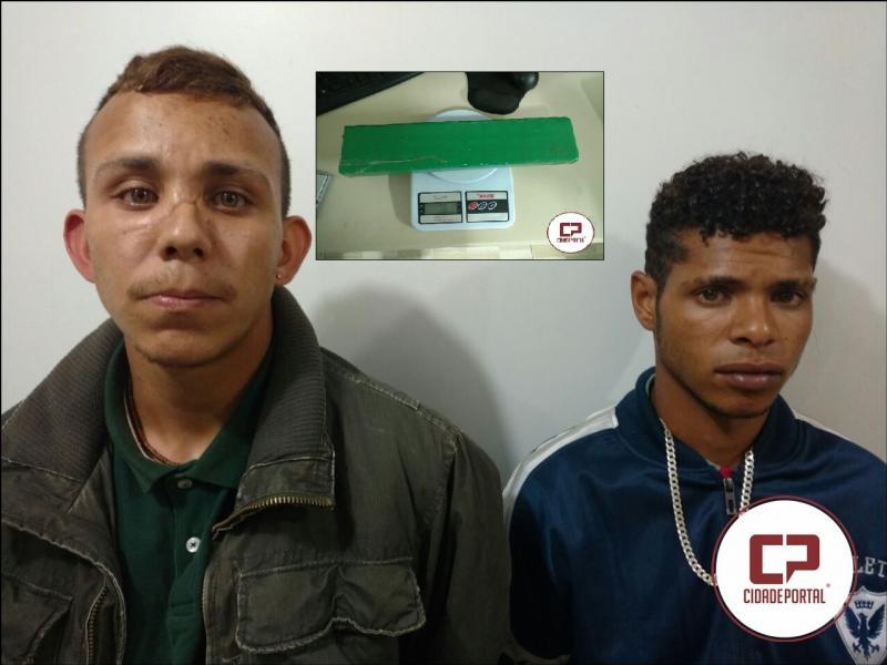 Operação conjunta entre Polícia Militar e Polícia Civil resulta na prisão de dois acusados de tráfico em Ubiratã