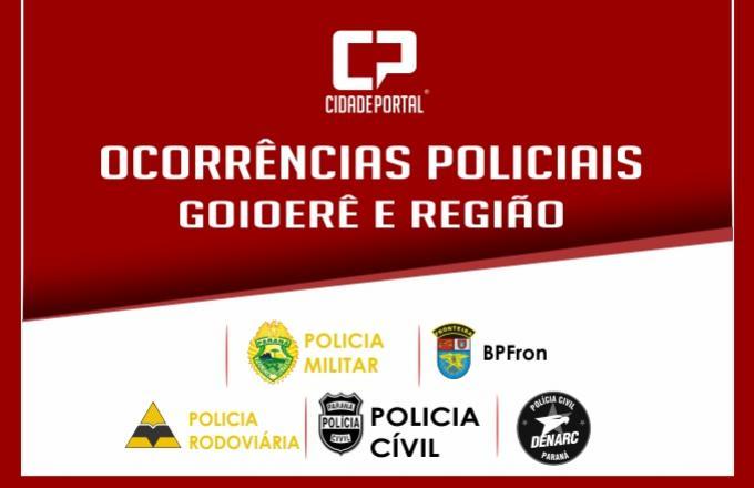 Tentativa de Homicídio foi registrado na cidade de Juranda nesta quinta-feira, 2