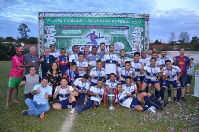 Atual bicampeão, Ubiratã está no grupo B da 3ª Copa Comcam de Futebol