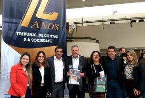 Ubiratanenses participam do aniversário de 72 anos do Tribunal de Contas do Estado do Paraná