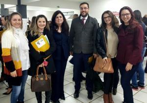 Juíza, Promotor e Secretaria de Assistência Social de Ubiratã participaram de evento em Cascavel