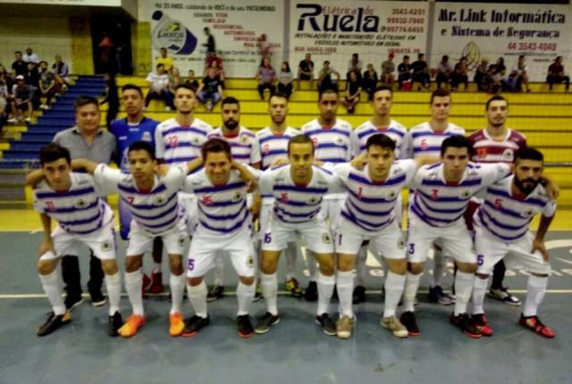 Ubiratã vence em casa e se classifica para as quartas de final da Copa Amop de Futsal