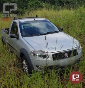 Polícia Militar recupera em Ubiratã veículo roubado em Anahy