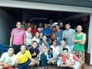 Assistência Social realiza cadastramento do grupo de Venezuelanos que chegou a Ubiratã