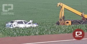 Ultrapassagem forçada resulta em acidente na BR-369 em Juranda
