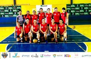 Basquete Feminino de Ubiratã é bronze na 1ª etapa da Copa Centro-Oeste