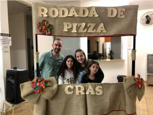 Rodada de Pizza encerrou ciclo do Projeto Práticas Educativas no CRAS em Ubiratã