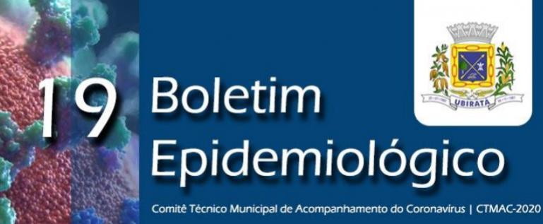 Secretaria de Saúde divulga 19º Boletim Epidemiológico com informações sobre o Coronavírus em Ubiratã