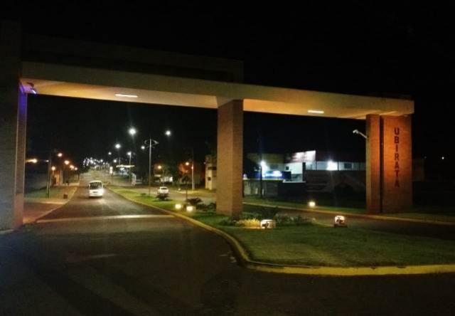 Nova iluminação da Avenida João Pipino de Ubiratã já está em funcionamento