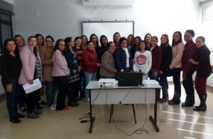 Professores da rede municipal de Ubiratã participaram do curso de formação continuada