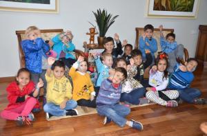 Crianças de Ubiratã realizam ação de conscientização na Semana do Meio Ambiente