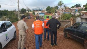 Coordenador Estadual da Defesa Civil visita Ubiratã após temporal e libera mais ajuda para o município