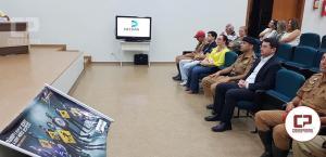 Lançamento oficial da Campanha Maio Amarelo em Ubiratã foi nesta terça-feira, 08