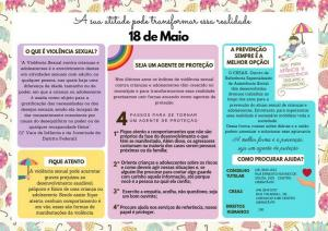 Confira a programação da semana de mobilização de enfrentamento à violência sexual
