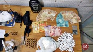 Acusados de tráfico de drogas são presos após confusão e disparos de arma de fogo em frente a boate