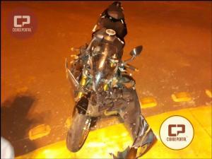 Tragédia: Morador de Cafelândia perde a vida após perder direção da moto e tombar na entrada da cidade