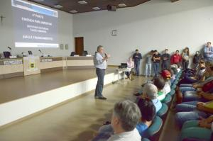 Administração municipal realizou audiência pública sobre financiamento e emendas parlamentares