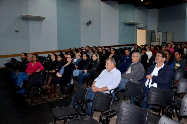 Reunião com os servidores da Saúde ubiratanense foi realizado nesta sexta, 03