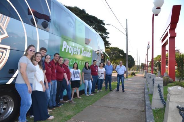 Ubiratã conheceu Projeto Saúde da Viação Garcia e analisa viabilidade de adesão