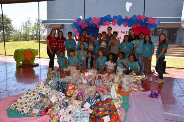 Curumim Ubiratã realizou comemorações do dia das crianças