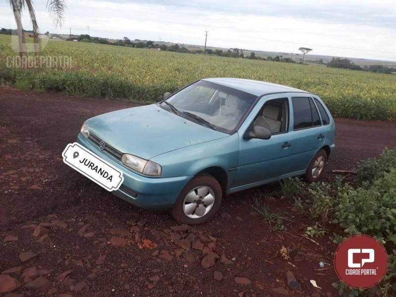 Dois indivíduos armados roubaram cinco veículos e dinheiro de uma propriedade rural em Juranda