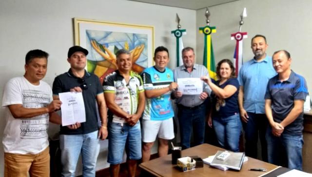 Bira Bikers se reúnem com prefeito Baco para apresentar projetos para eventos em 2019