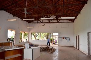 Iniciada a reforma do Centro de Convivência de Idosos de Ubiratã