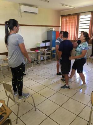 Professores da rede municipal de ensino participaram de formação profissional em Ubiratã