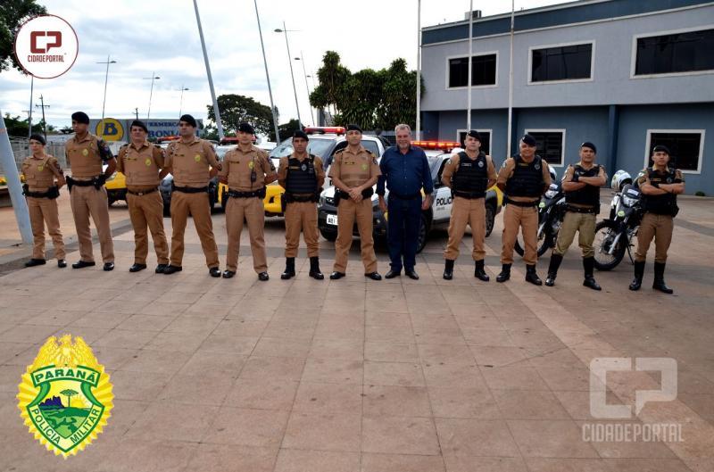 Operação TIRADENTES foi desencadeada pelos Policiais Militares de Ubiratã da 2ª Cia do 11º BPM