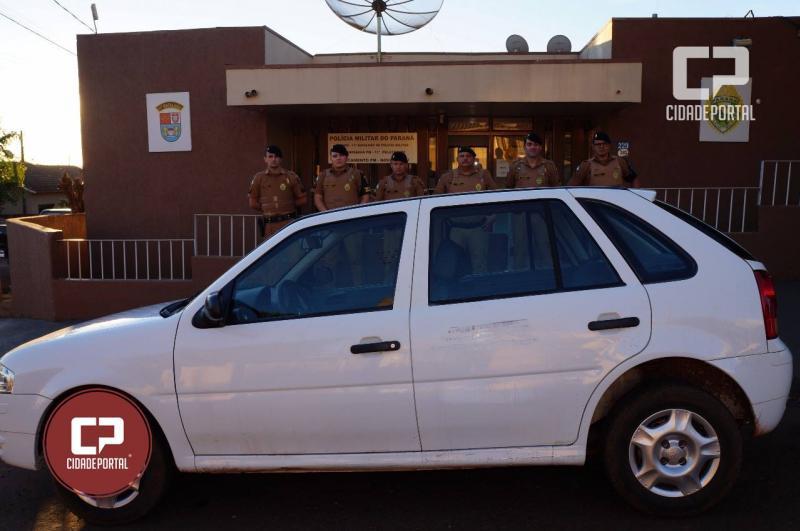 Polícia Militar recupera veículo furtado do Conselho Tutelar de Boa Esperança em Nova Cantu