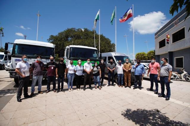 Deputado Pacheco entrega três veículos para a Prefeitura de Ubiratã