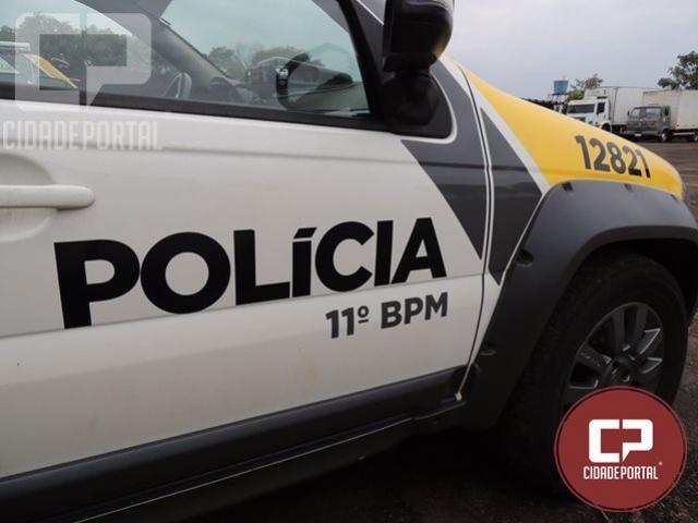 Polícia Militar apreende duas armas de fogo em Campina da Lagoa e prende um homem de 67 anos