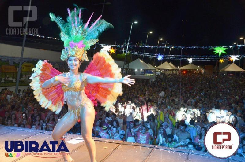 Fotos: Muita folia e agitação na noite de segunda-feira do Carnaval da Seringueira em Ubiratã