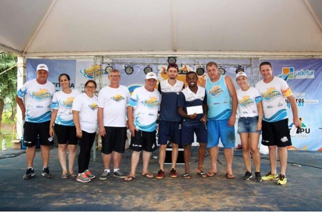 Ubiratanenses conquistam o 4º lugar do Volei de Praia na Etapa Mais Verão realizado em São Miguel