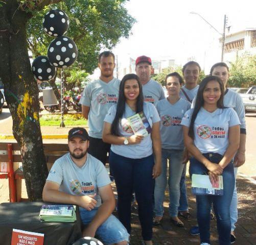 Dia D de Combate a Dengue foi realizado em Ubiratã